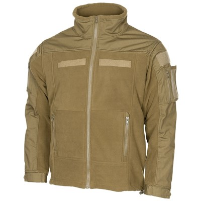 Tactical fleece jacket COMBAT COYOTE