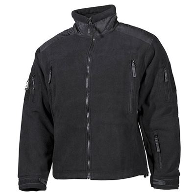 Jacket fleece Heavy-Strike BLACK