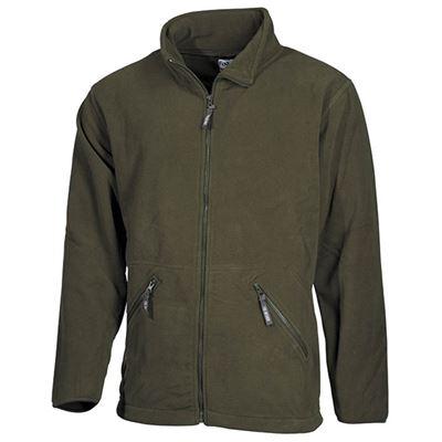 ARBER fleece jacket OLIVE