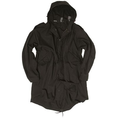 U.S. M65 jacket with liner FISHTAIL BLACK