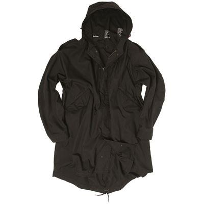 U.S. M65 jacket with liner FISHTAIL BLACK