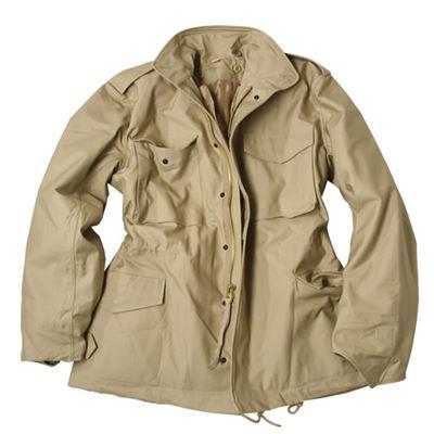 Jacket U.S. M65 NYCO TEESAR to insert KHAKI