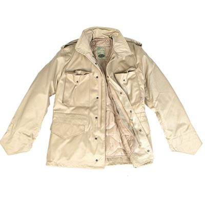 Jacket U.S. M65 imp. lined with sandy