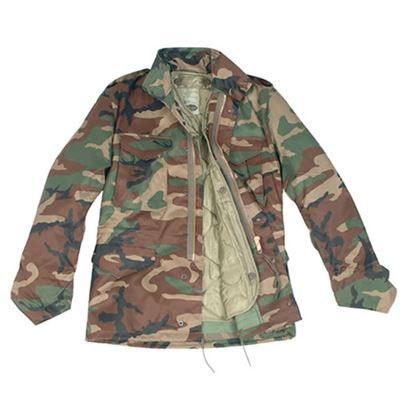 Jacket U.S. M65 imp. with insert WOODLAND