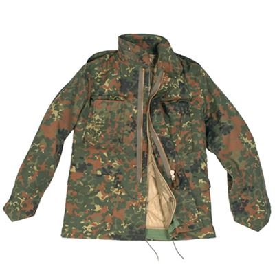 Jacket U.S. M65 imp. with insert Flecktarn