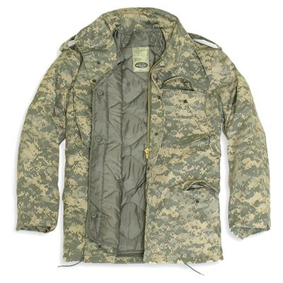 Jacket U.S. M65 imp. lined with AT-DIGITAL
