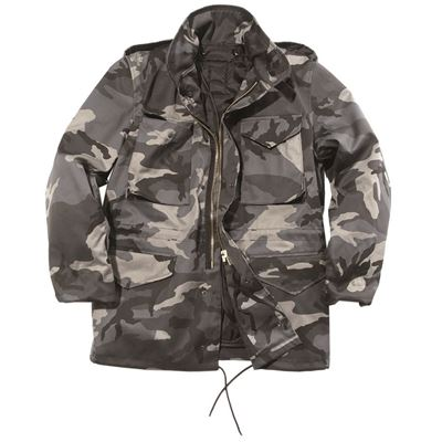 Jacket US M65 imp. with DARK CAMO