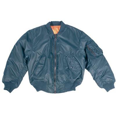 US MA1 Bomber Jacket BLUE