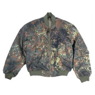 US MA1 Bomber Jacket FLECKTARN