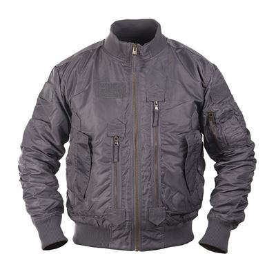 Pilot Jacket US TACTICAL GREY