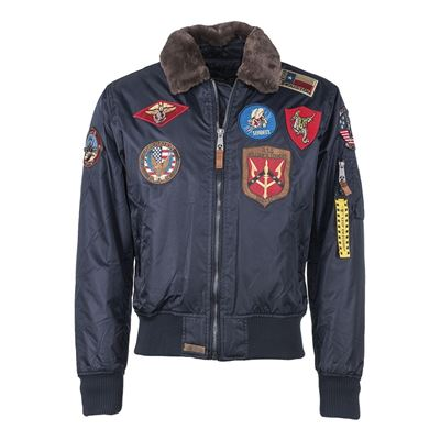 Top Gun Flight Jacket PILOT BLUE