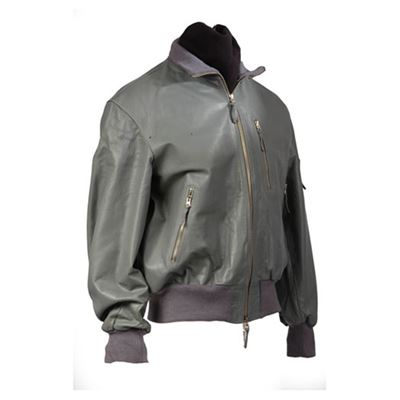 BW Leather Jacket AVIATOR GRAY