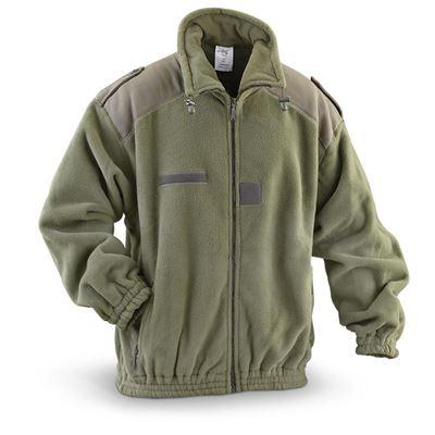 France fleece jacket OLIVE new