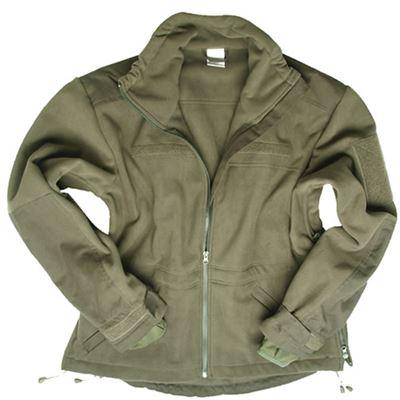 WINDPROOF fleece jacket OLIVE