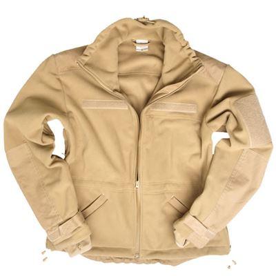 WINDPROOF fleece jacket COYOTE