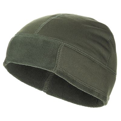 Fleece cap extra warm OLIV