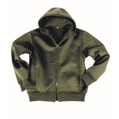 JCKT with fleece lining OLIVE