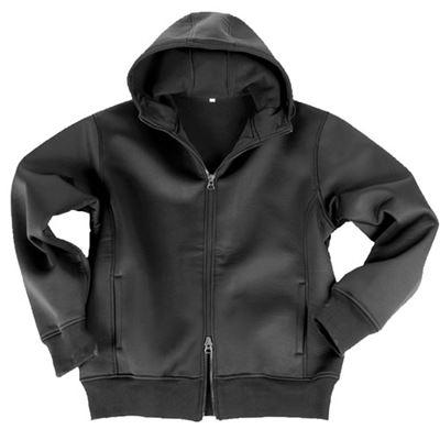 JCKT with fleece lining BLACK