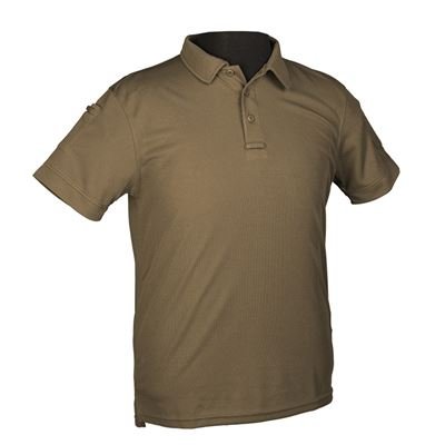 TACTICAL SHORT SLEEVE POLO SHIRT OLIVE DRAB