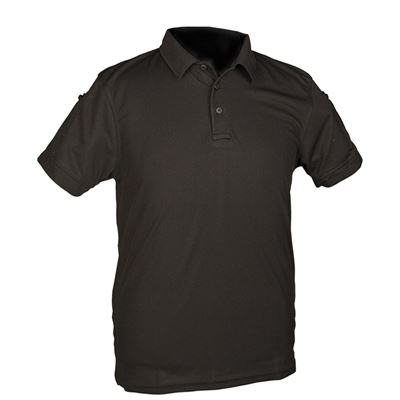 TACTICAL SHORT SLEEVE POLO SHIRT BLACK