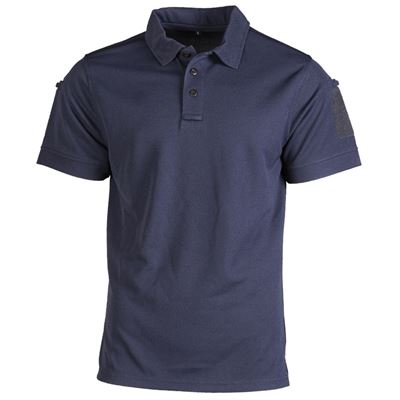 TACTICAL SHORT SLEEVE POLO SHIRT DARK BLUE