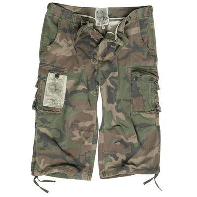 Short pants AIR COMBAT pre-washed WOODLAND