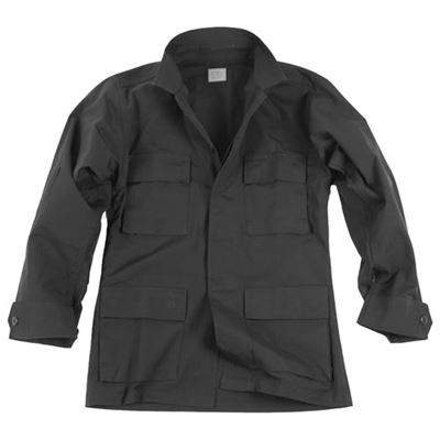 Shirt U.S. type rip-stop BDU BLACK