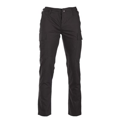 Pants U.S. BDU SLIM FIT field rip-stop BLACK