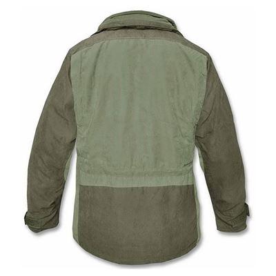 HUNTER hunter's jacket with fleece lining OLIVE