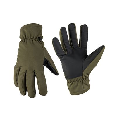 Gloves SOFTSHELL THINSULATE™ OLIVE DRAB