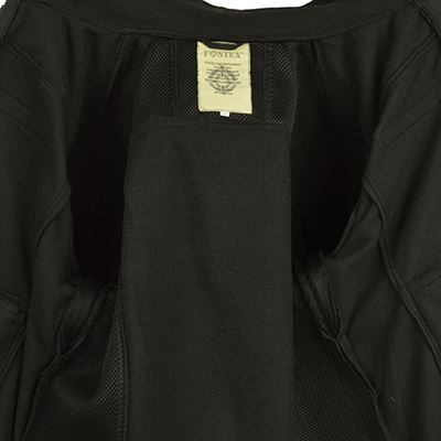 COMBAT FLEECE jacket BLACK
