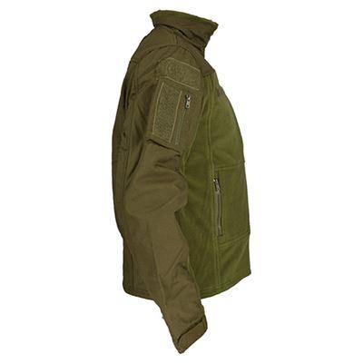 COMBAT OLIVE FLEECE Jacket