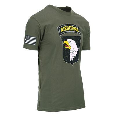 T-shirt 101st AIRBORNE GREEN
