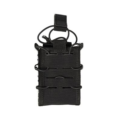OPEN TOP FLEX MAGAZINE POUCH SINGLE BLACK