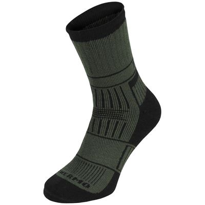 Thermal socks ALASKA OLIVE DRAB
