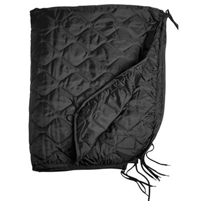 U.S. poncho liner with a case BLACK