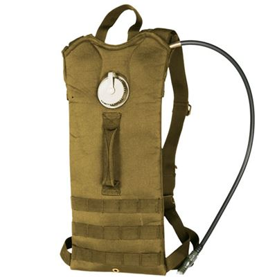 3L hydration backpack with straps COYOTE BROWN