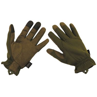 Finger gloves light OLIVE DRAB