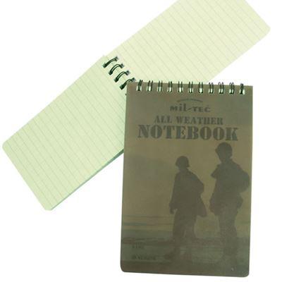 Block / SMALL waterproof notebook