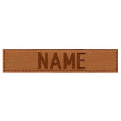 "Patch label ""NAME"" 3"" VELCRO COYOTE"