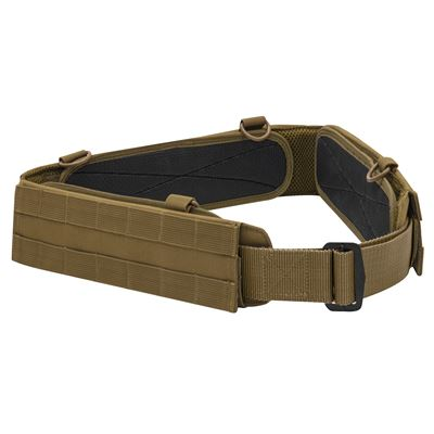 MOLLE Low Profile Tactical Battle Belt COYOTE