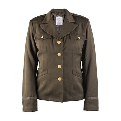US JACKET WOOL WOMEN´S REPRO OLIVE DRAB