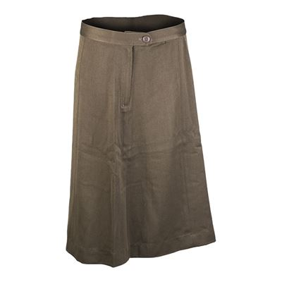 US SKIRT WOOL WOMEN´S REPRO OLIVE DRAB