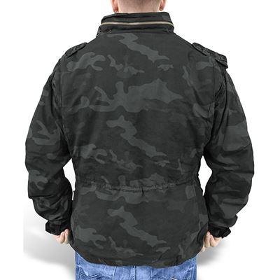 U.S. M65 Regiment Jacket with liner BLACK CAMO