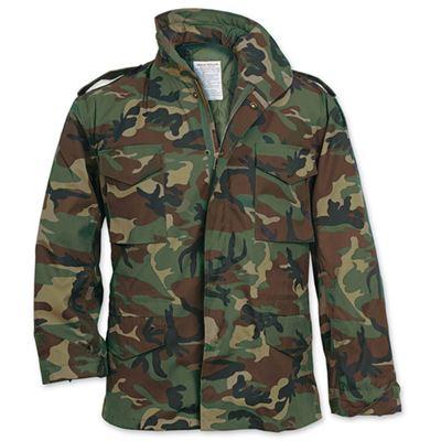 Jacket US M65 WOODLAND