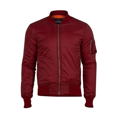 Jacket MA1 BOMBER basic BORDEAUX