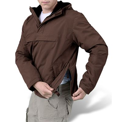 WINDBREAKER Jacket BROWN