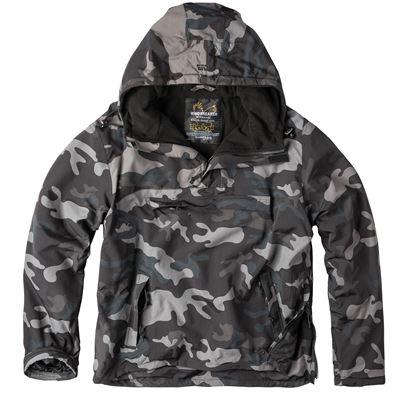 WINDBREAKER Jacket BLACK CAMO