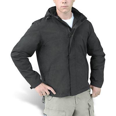 WINDBREAKER ZIPPER Jacket BLACK