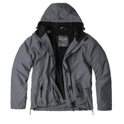 WINDBREAKER ZIPPER Jacket GREY